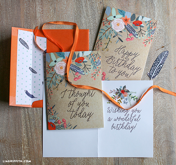 Greeting card printables