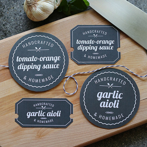 Printable Food Labels - Lia Griffith