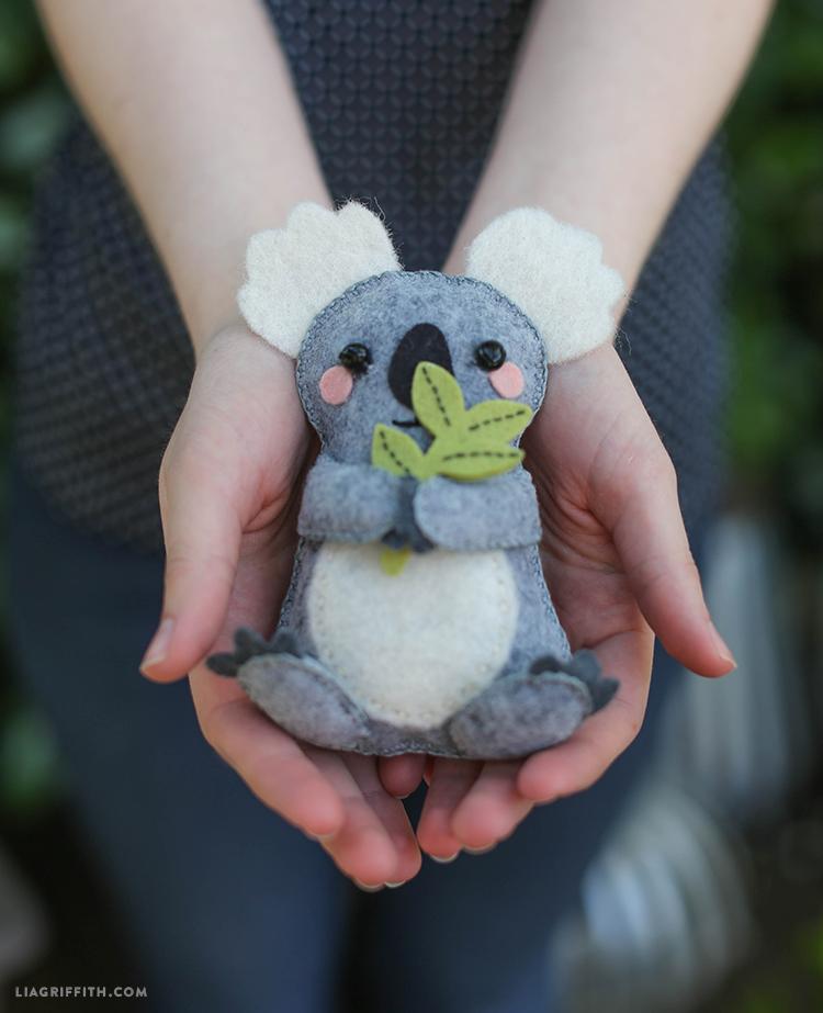 DIY_Felt_Koala_Bear