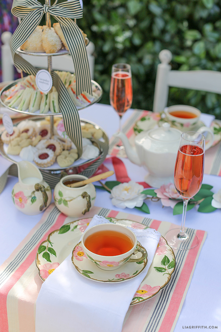 High_Tea_Table_Snacks_Setting & Host an English Style High Tea - Lia Griffith