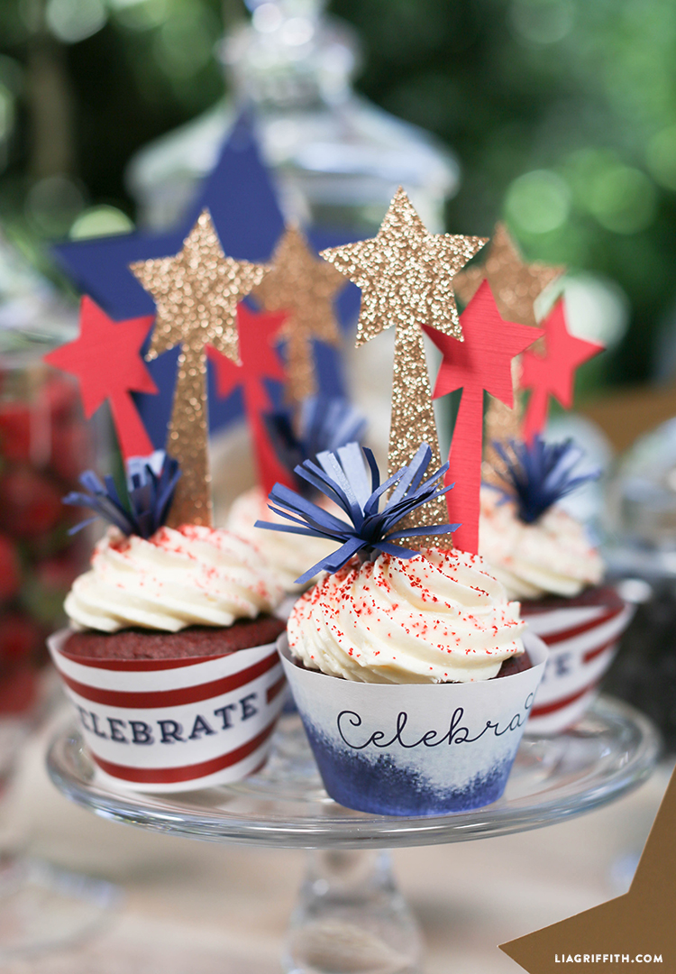 July_4_Cupcake_Decorations