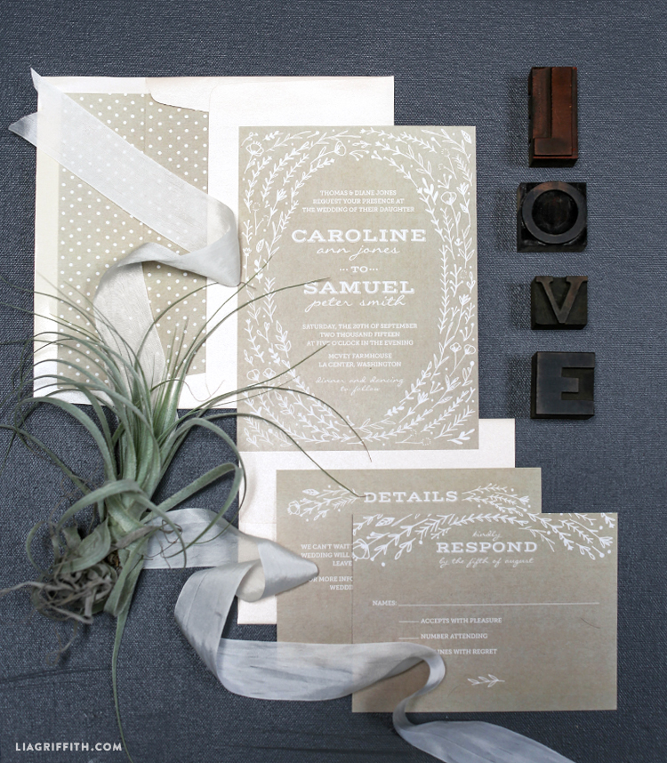 Rustic_White_Kraft_Wedding_Invitaiton