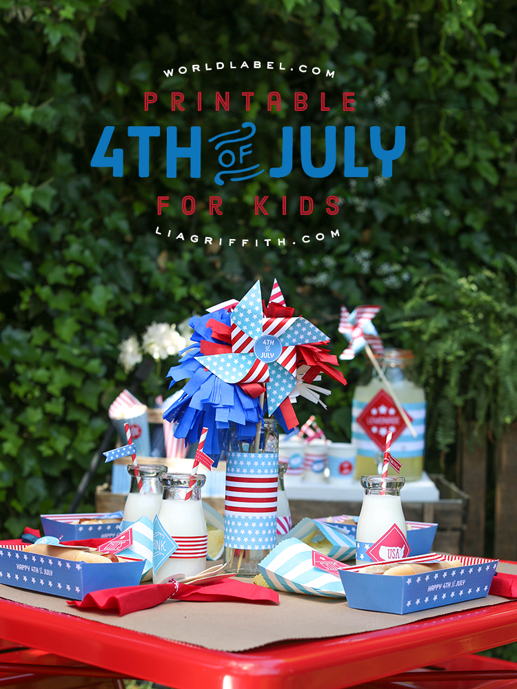 Childrens 4th Of July Party Ideas Lia Griffith