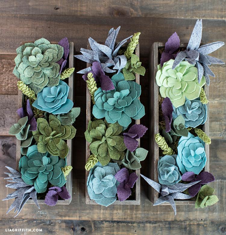 Foam_Base_Succluent_Garden Felt_Succulent_Boxes_TN Felt_Succluents_DIY  Felt_Succluent Wall Art Felt_Vertical_Garden Felt_Succulent_Table_Scape ...
