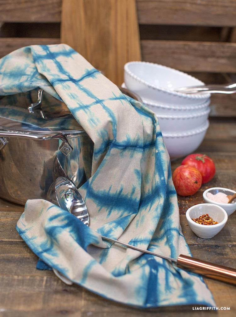 Indigo_Kitchen_Tea_Towels_Shibori_Hand_Dyed_Kitchen