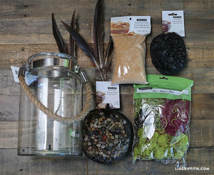Indoor terrarium garden lia griffith diy terrarium materials malvernweather Choice Image