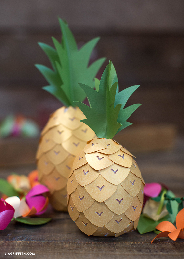 Paper_DIY_Pineapple