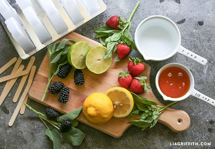 Popsicles_Herb_Infused_Fruit