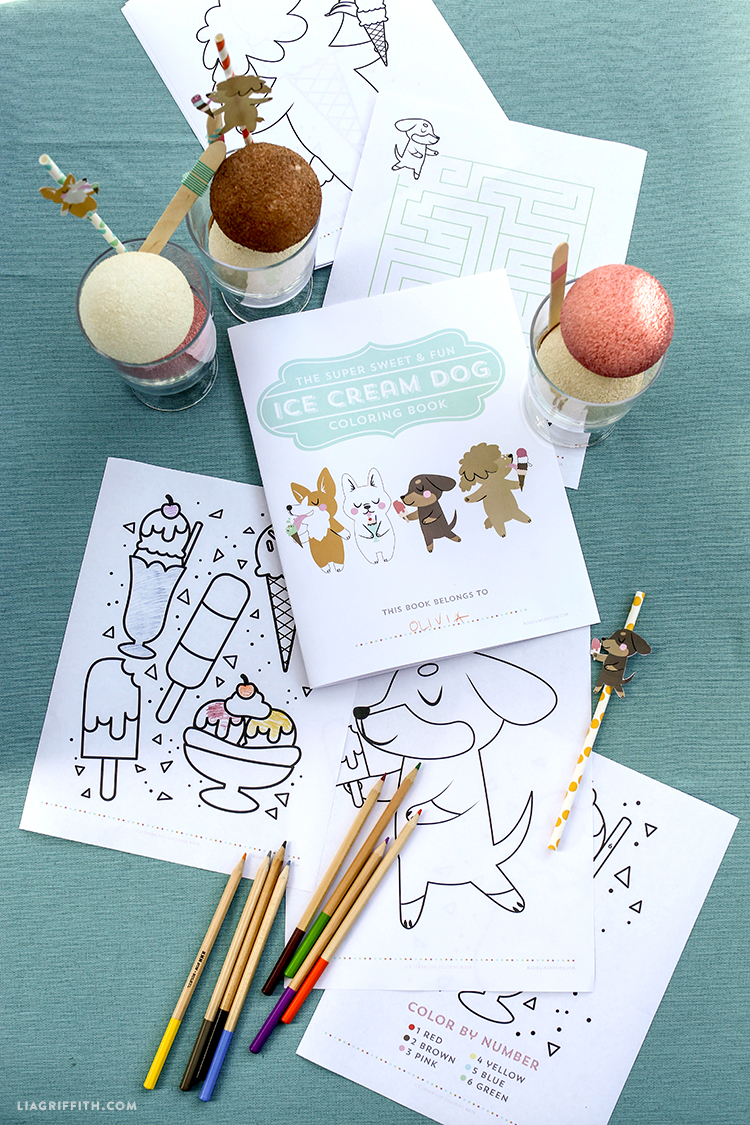 Co color books for kids to color - Printable_coloring_book_ice_cream