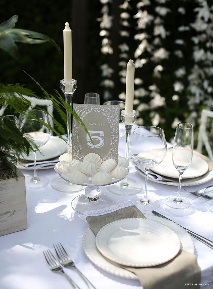 Table_Number_Kraft_Wedding