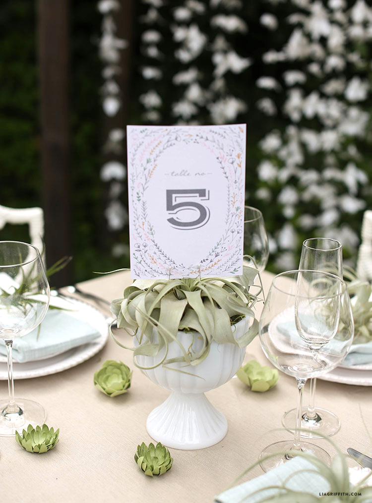 Wedding_Table_Number_Pink