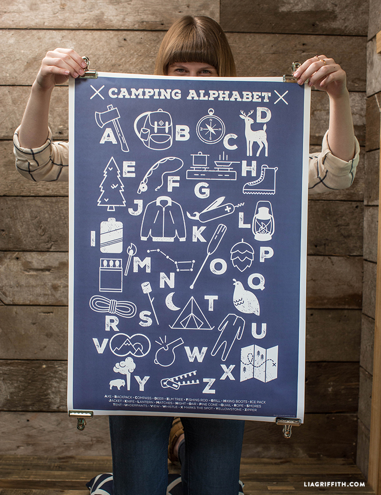 Camping_Alphabet_Poster