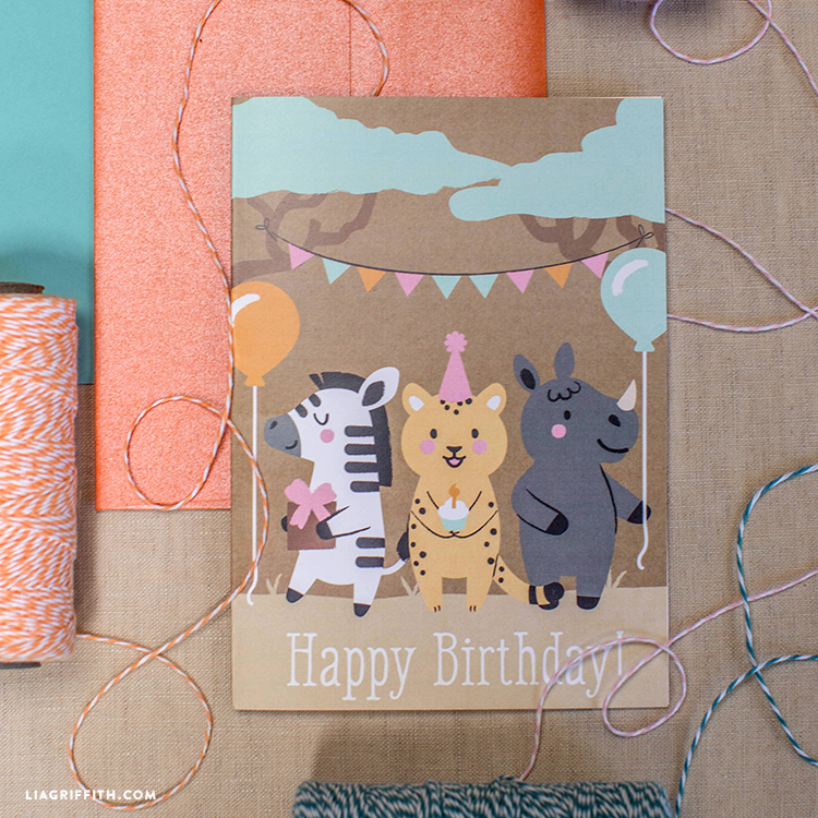 Kids Happy Birthday Cards Lia Griffith