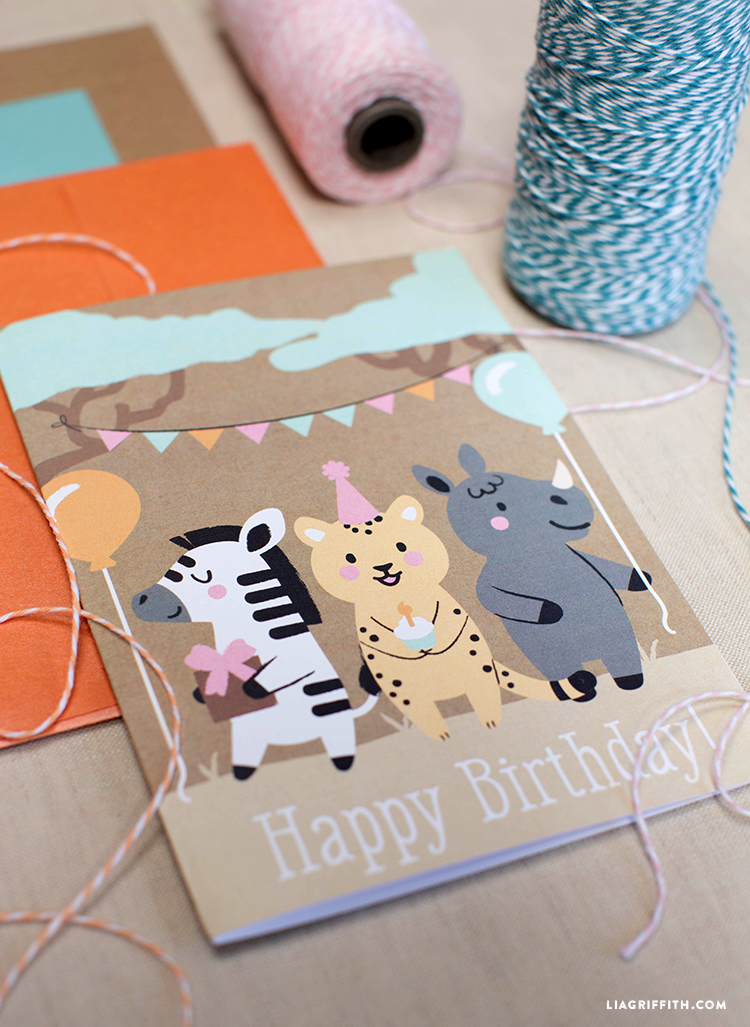Safari_Kids_Birthday_Card