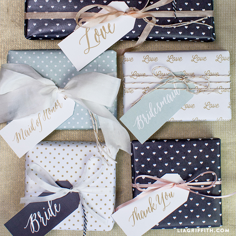 photo about Printable Wedding Favor Tags identify Printable Wedding day Reward Tags - Lia Griffith