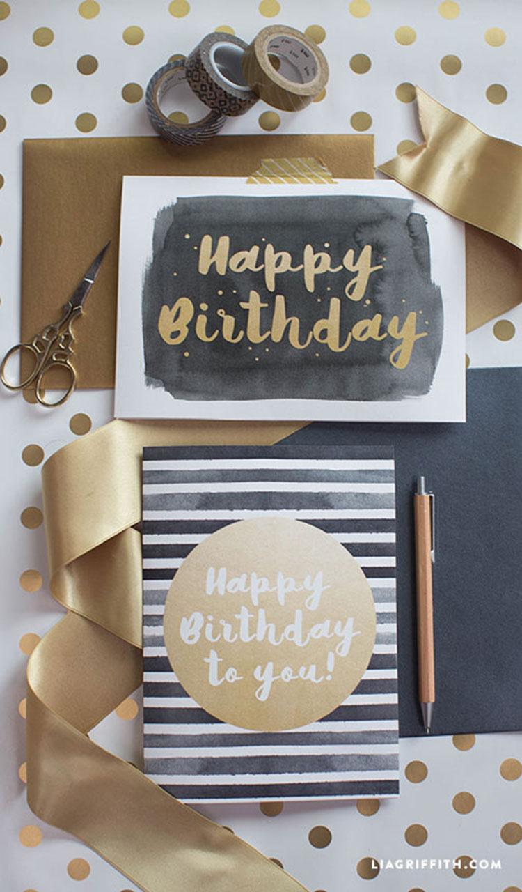 Modern happy birthday card lia griffith modern happy birthday card bookmarktalkfo Image collections