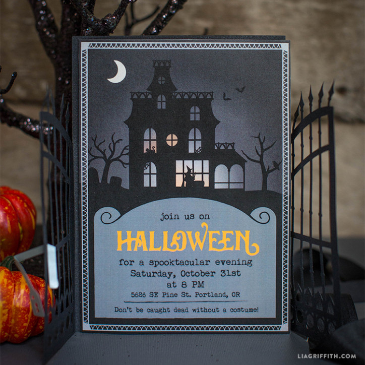 Halloween Party Printable Invation