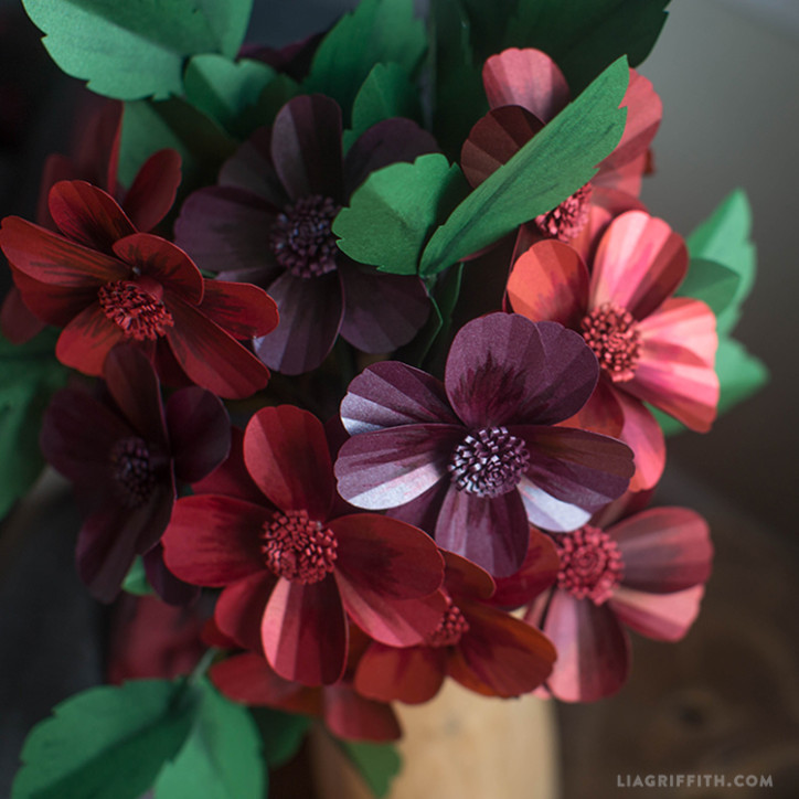 Paper Cosmo Flower