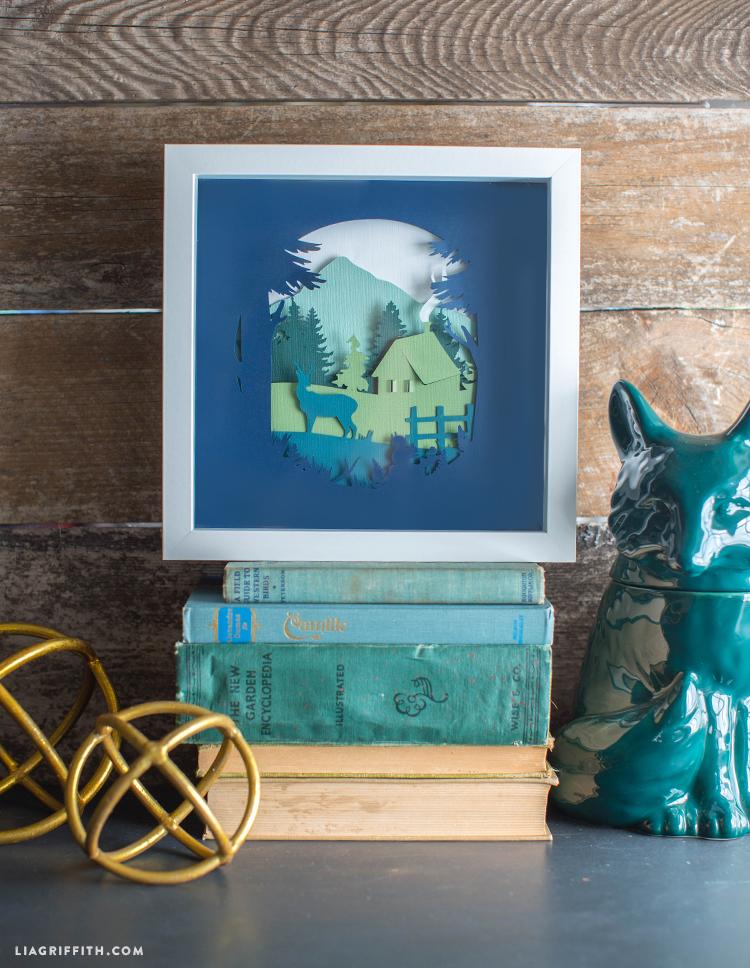 Woodland Paper Cut Art - Lia Griffith