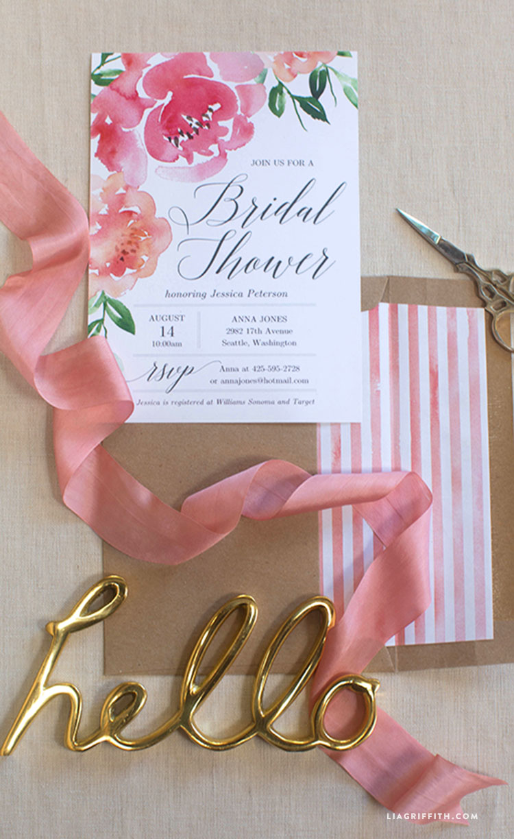 is all the rage at the moment but why stop there we say start at the beginning our printable bridal shower invitation is the perfect way to get your