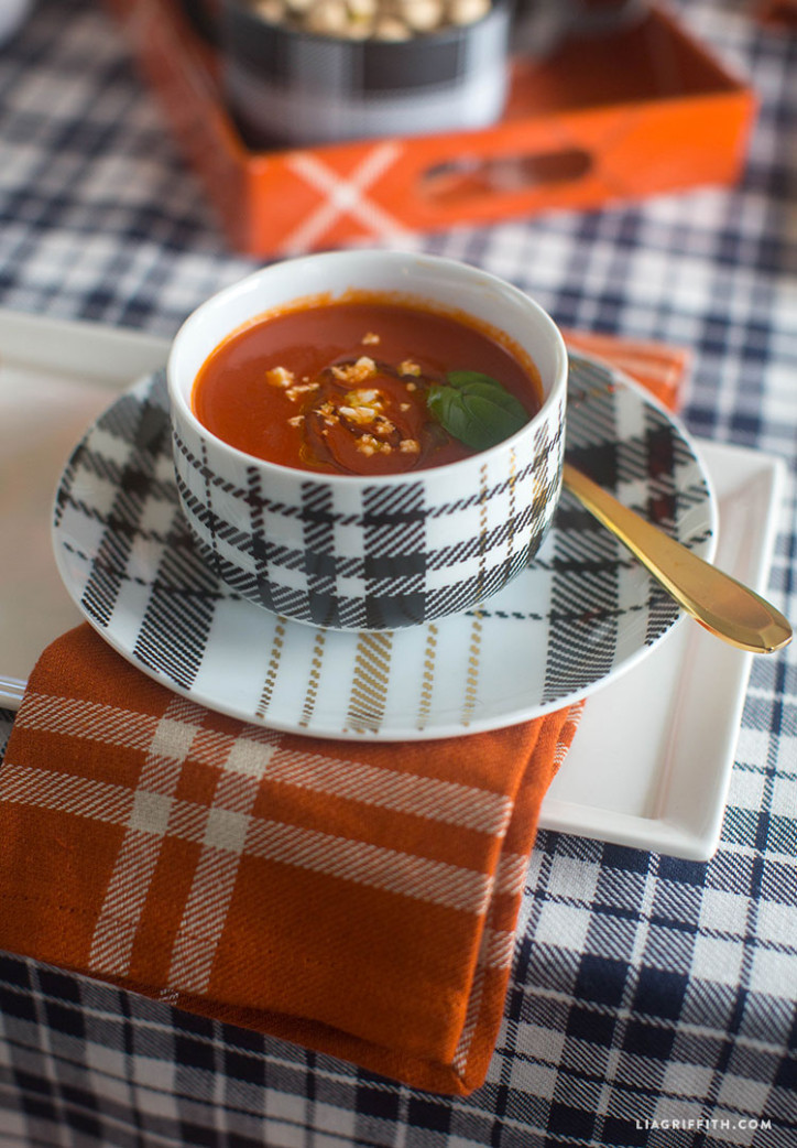 Target_Plaid_Styled_Table_Fall_Soup_Bowl