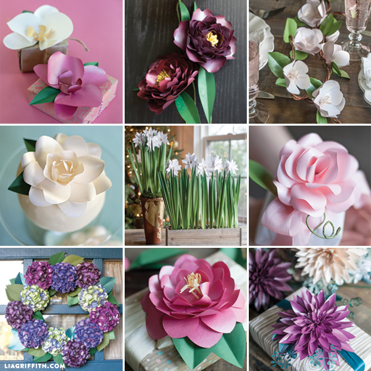 My Top 10 Paper Flowers Lia Griffith