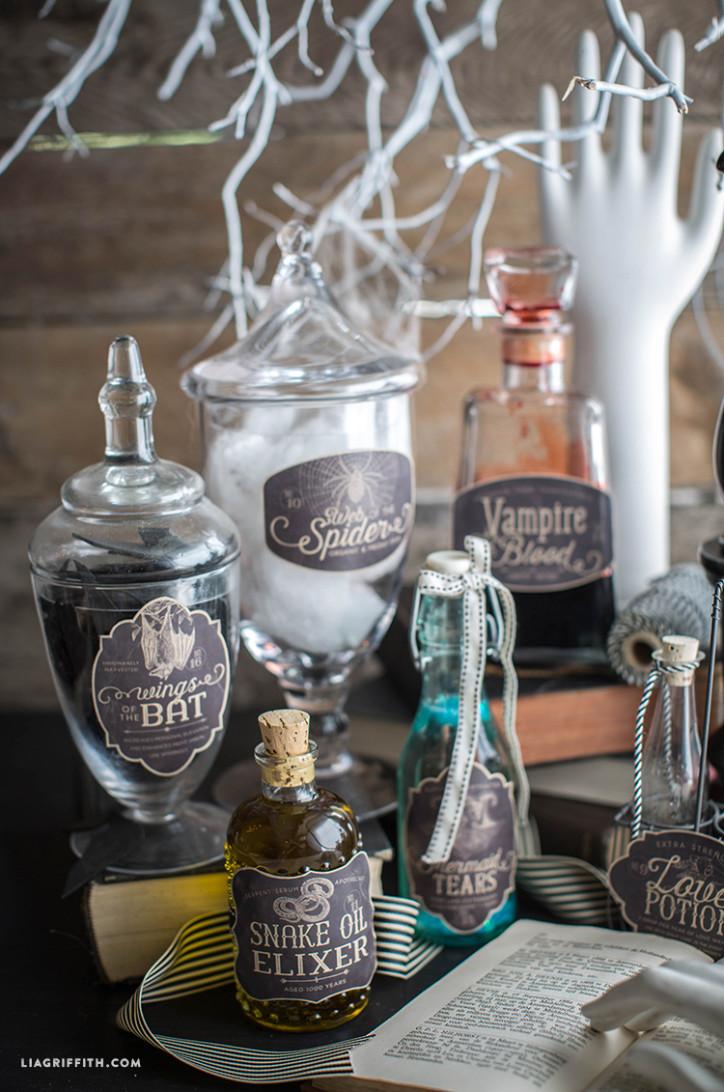 Apothecary_Vintage_Halloween_Jar_Labels