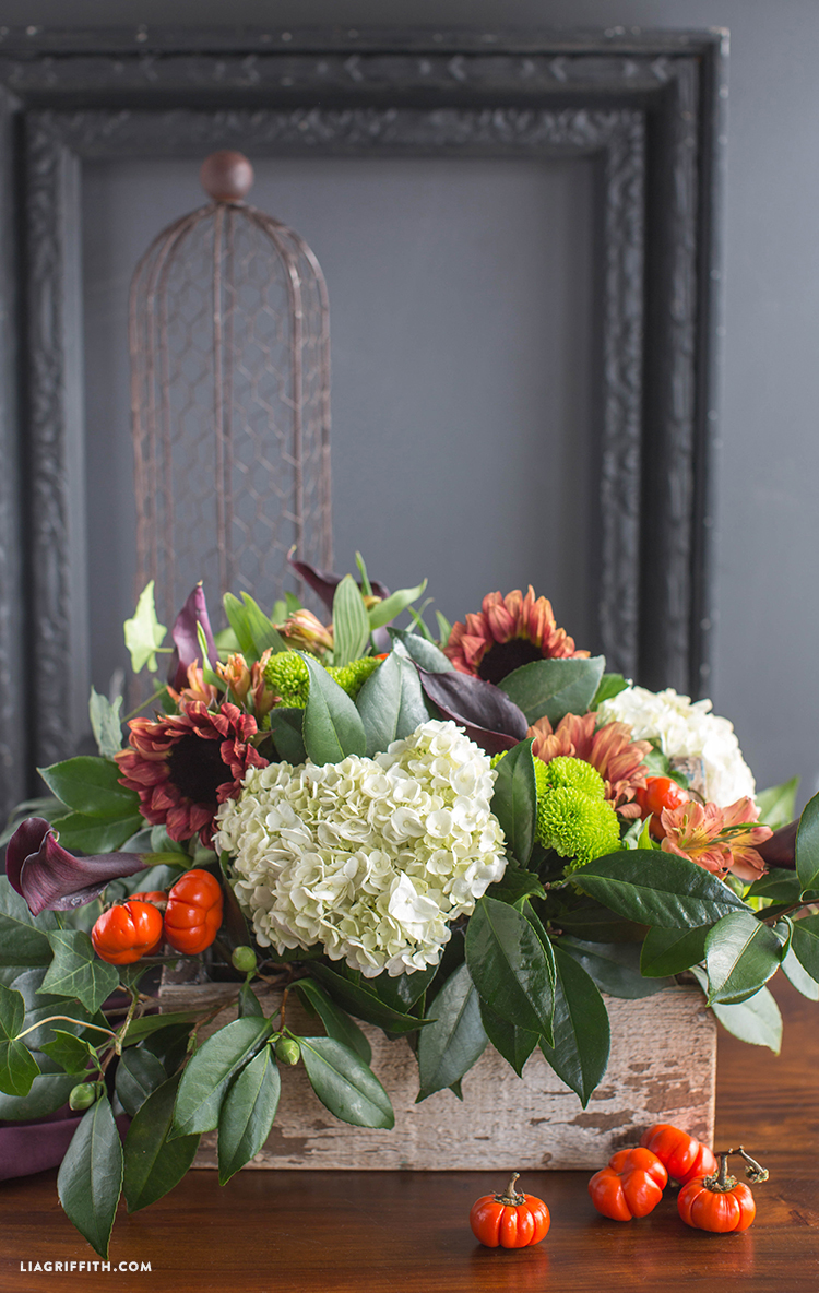 How to style a fresh flower centerpiece lia griffith how to style a fresh flower centerpiece in diy fresh flowers izmirmasajfo