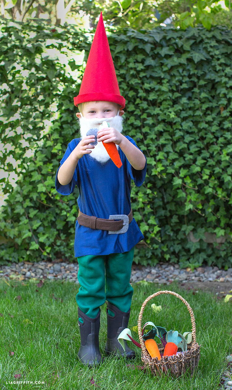 if you are on the hunt for more diy halloween ideas take a peek at our halloween section for more diy costumes halloween party ideas and diy halloween - Garden Gnome Costume