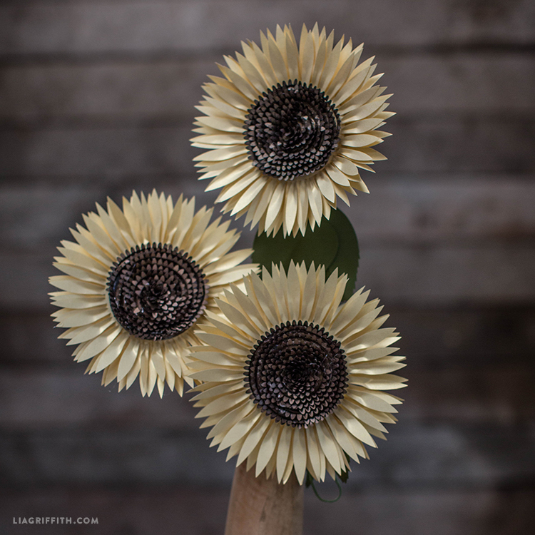 DIY_Sunflower_Paper_Template