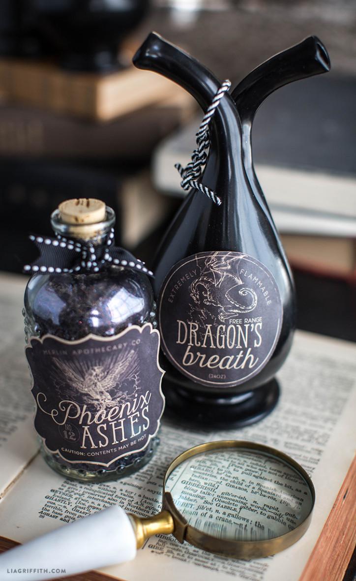 Halloween_Labels_Apothecary_Jar_Vintage
