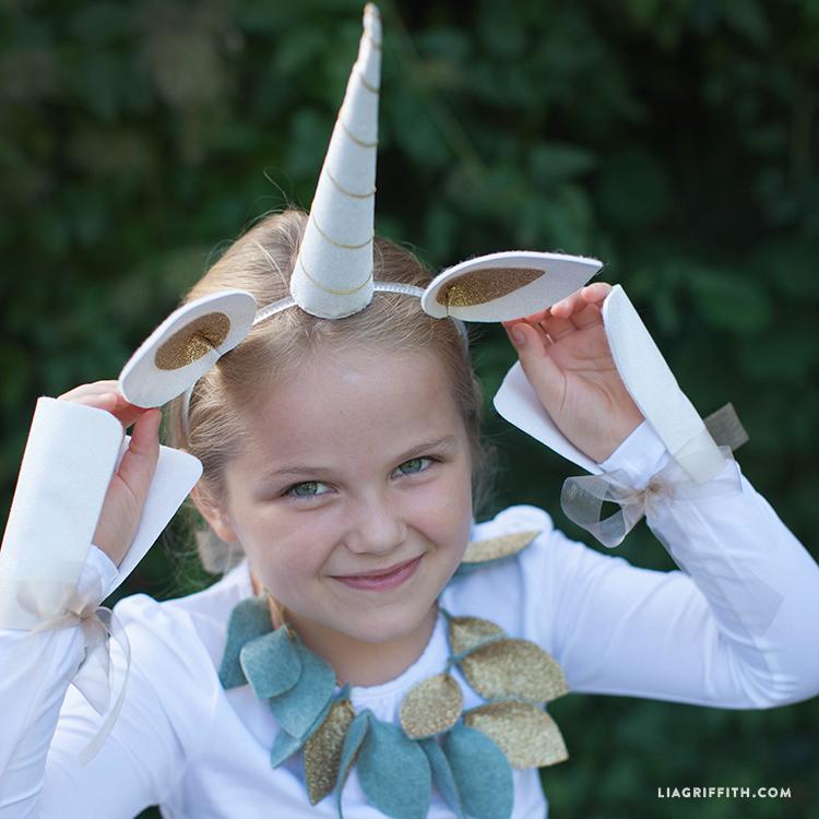 Diy Unicorn Costume Lia Griffith