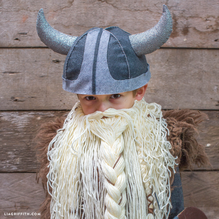 & DIY Kidu0027s Viking Costume - Lia Griffith