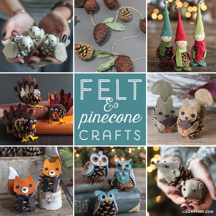 Felt_Pinecone_Craft_Roundup