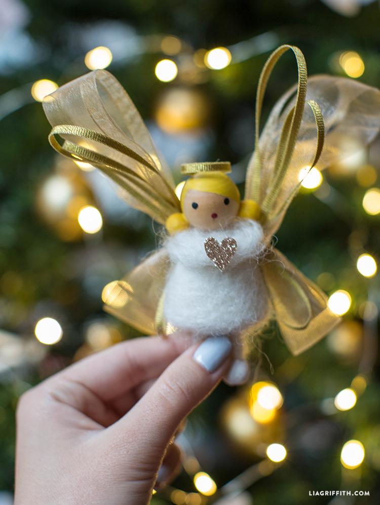 DIY angel kids craft