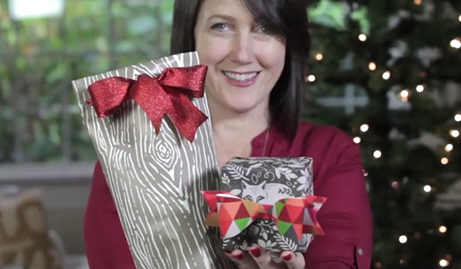 Gift Wrapping 101 Video Tutorial