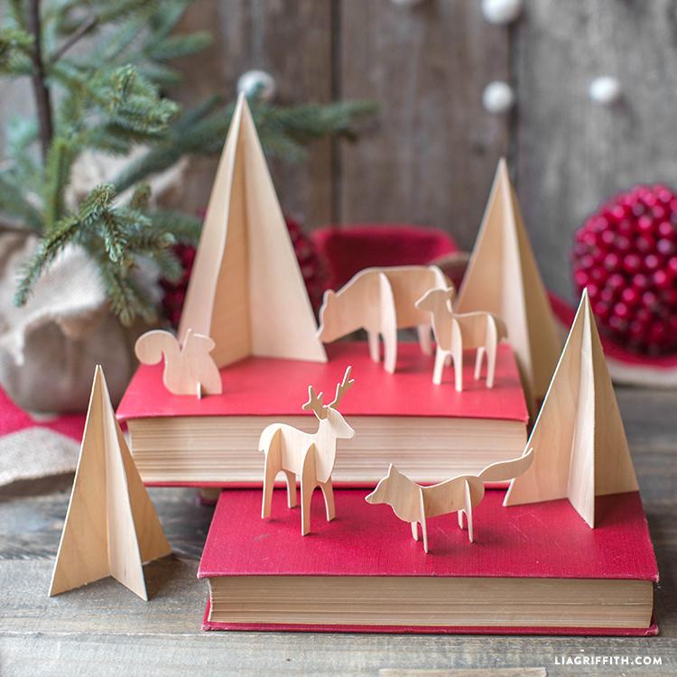 Diy Birch Wood Animals Lia Griffith