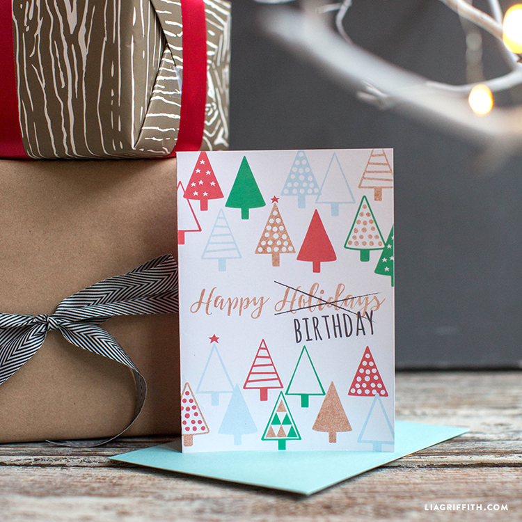 holiday birthday cards lia griffith