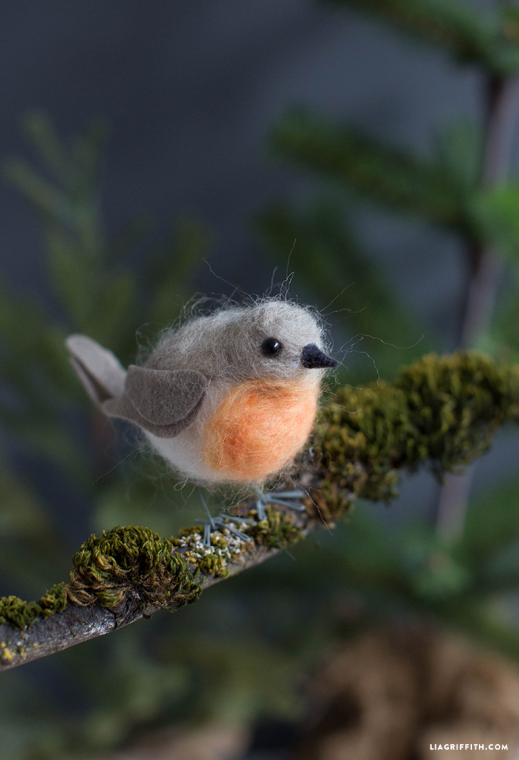 Felted_European_Robin