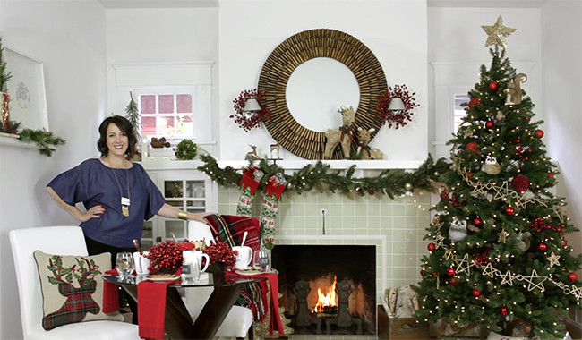 Decorating for the Holidays: One Small Space. . . Three Ways
