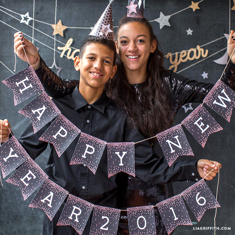 new years eve party printables for teens lia griffith