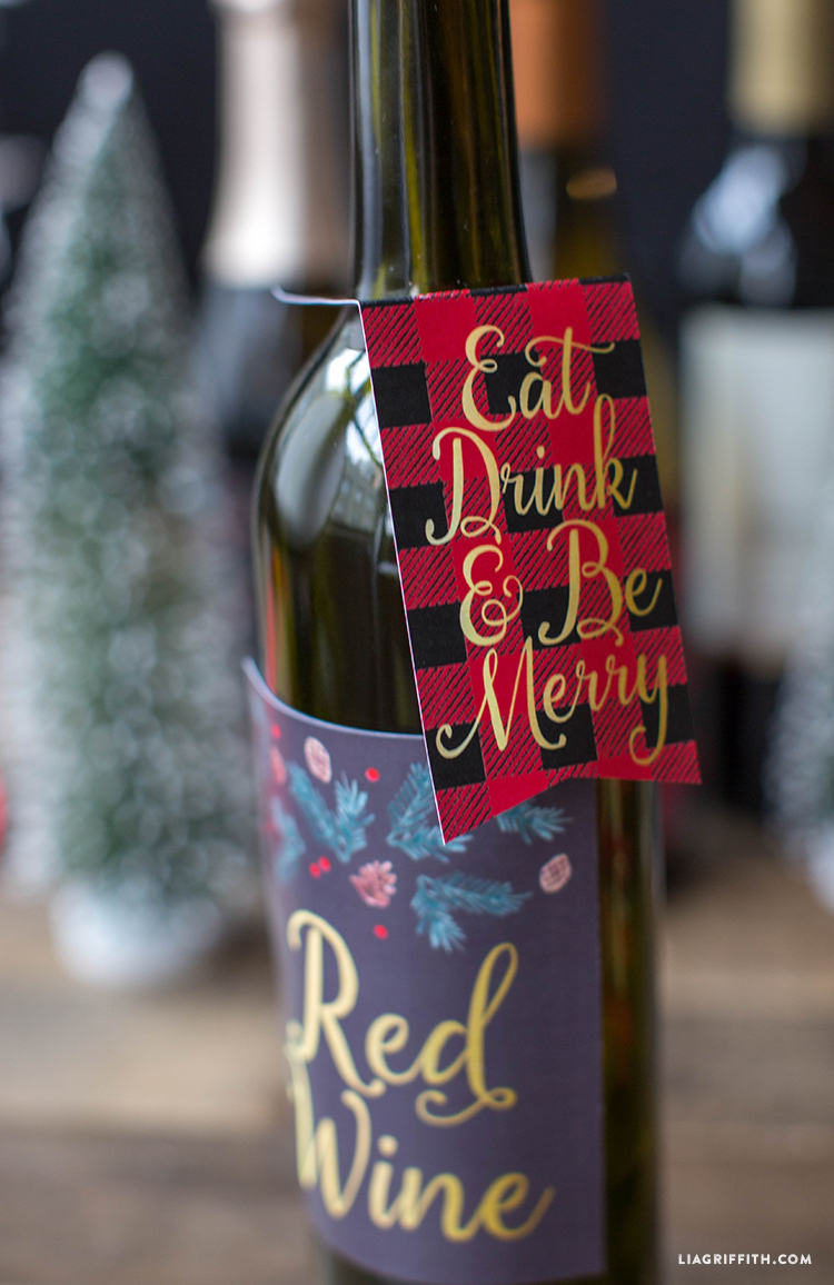 Wine_Bottle_Labels_Tags_Christmas