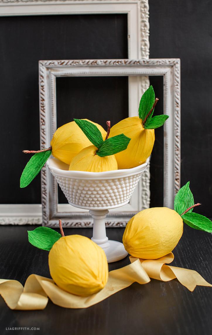 Crepe_Paper_Lemons_DIY