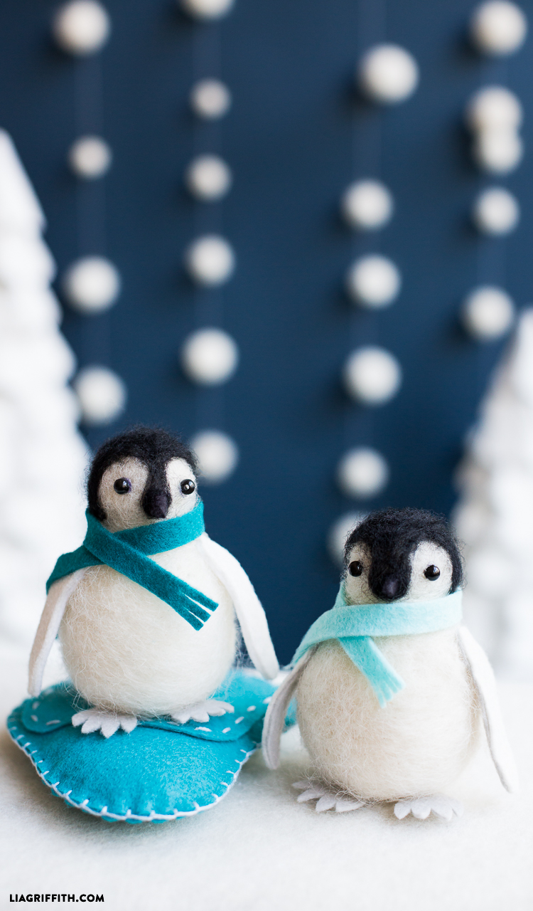 Felting Penguins