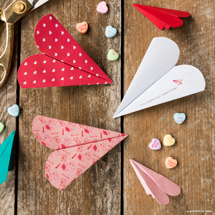 Heart Paper Airplane - Lia Griffith