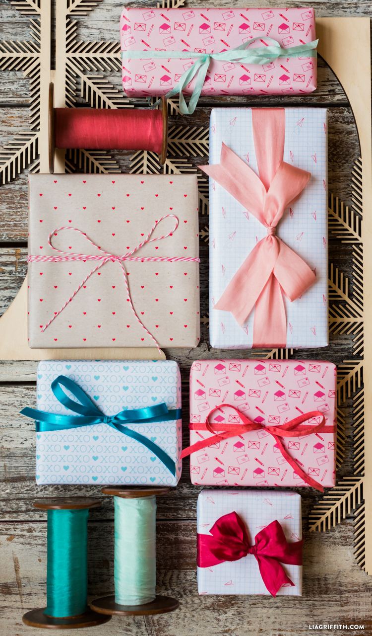 Valentine S Day Gift Wrap Lia Griffith