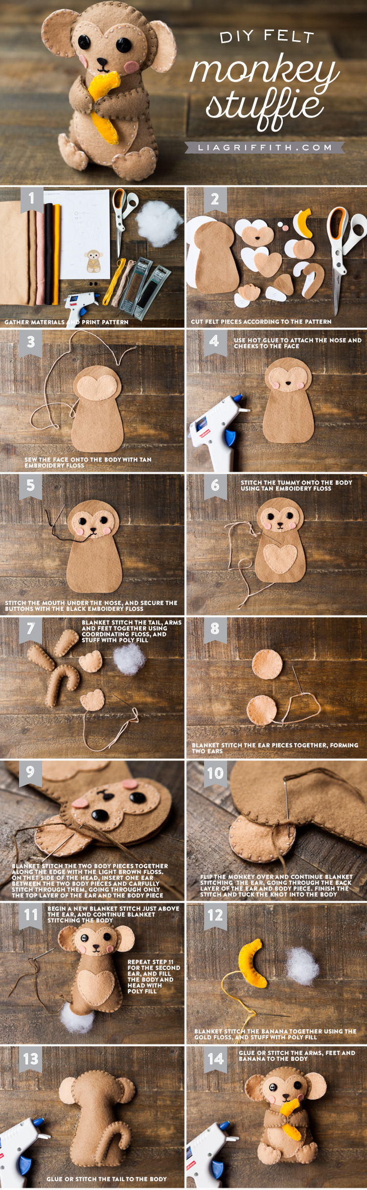 DIY Monkey Tutorial