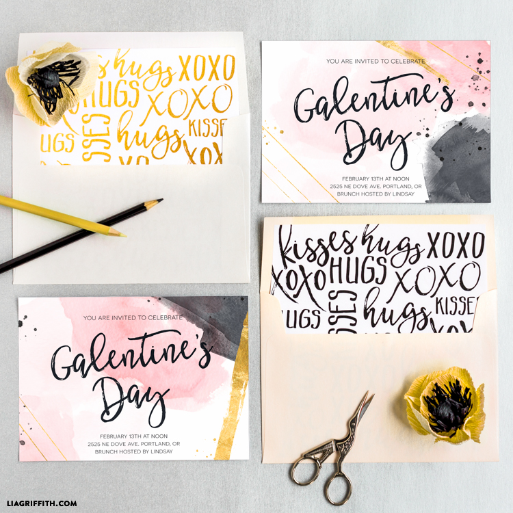 Galentine's Day Invitations