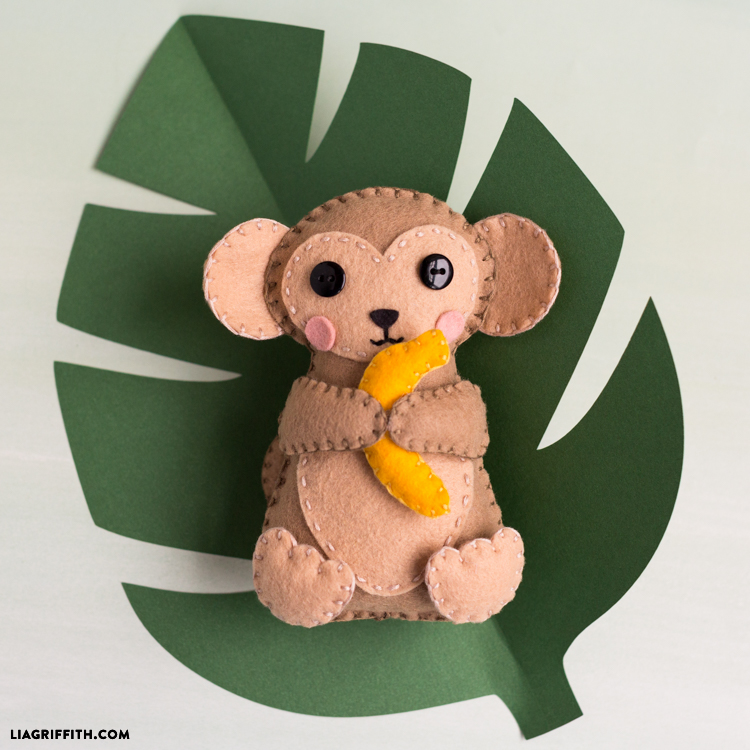 DIY Monkey Stuffie