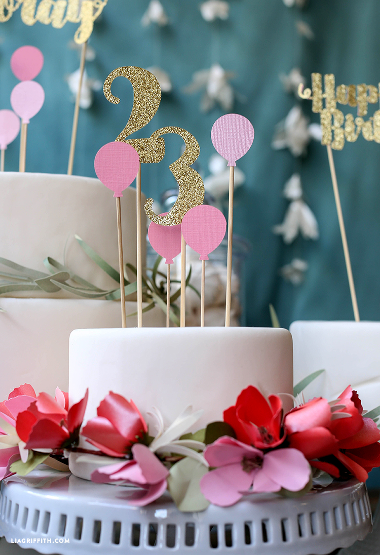 Birthday Cake Toppers - Lia Griffith